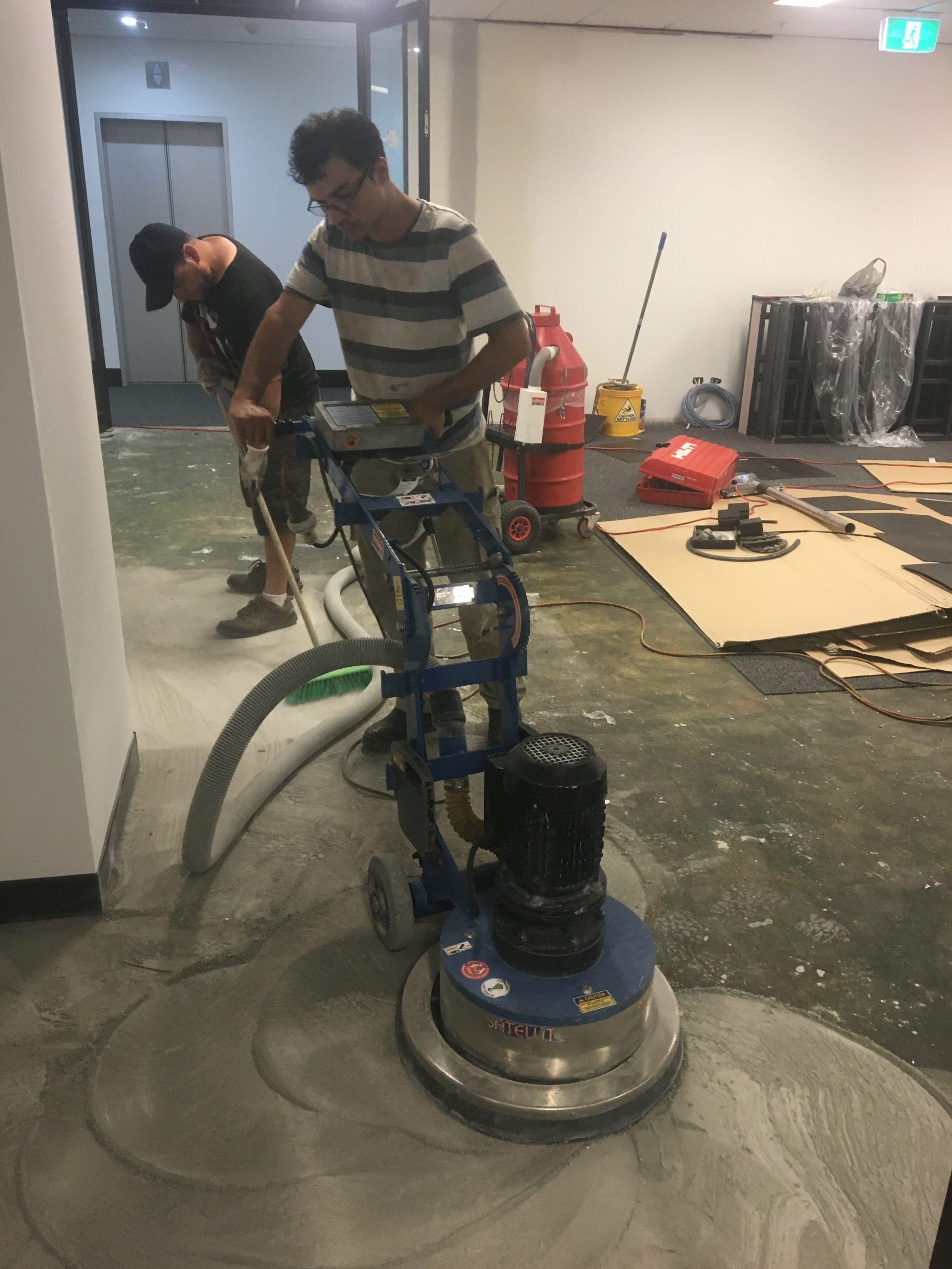 Concrete Grinding 1