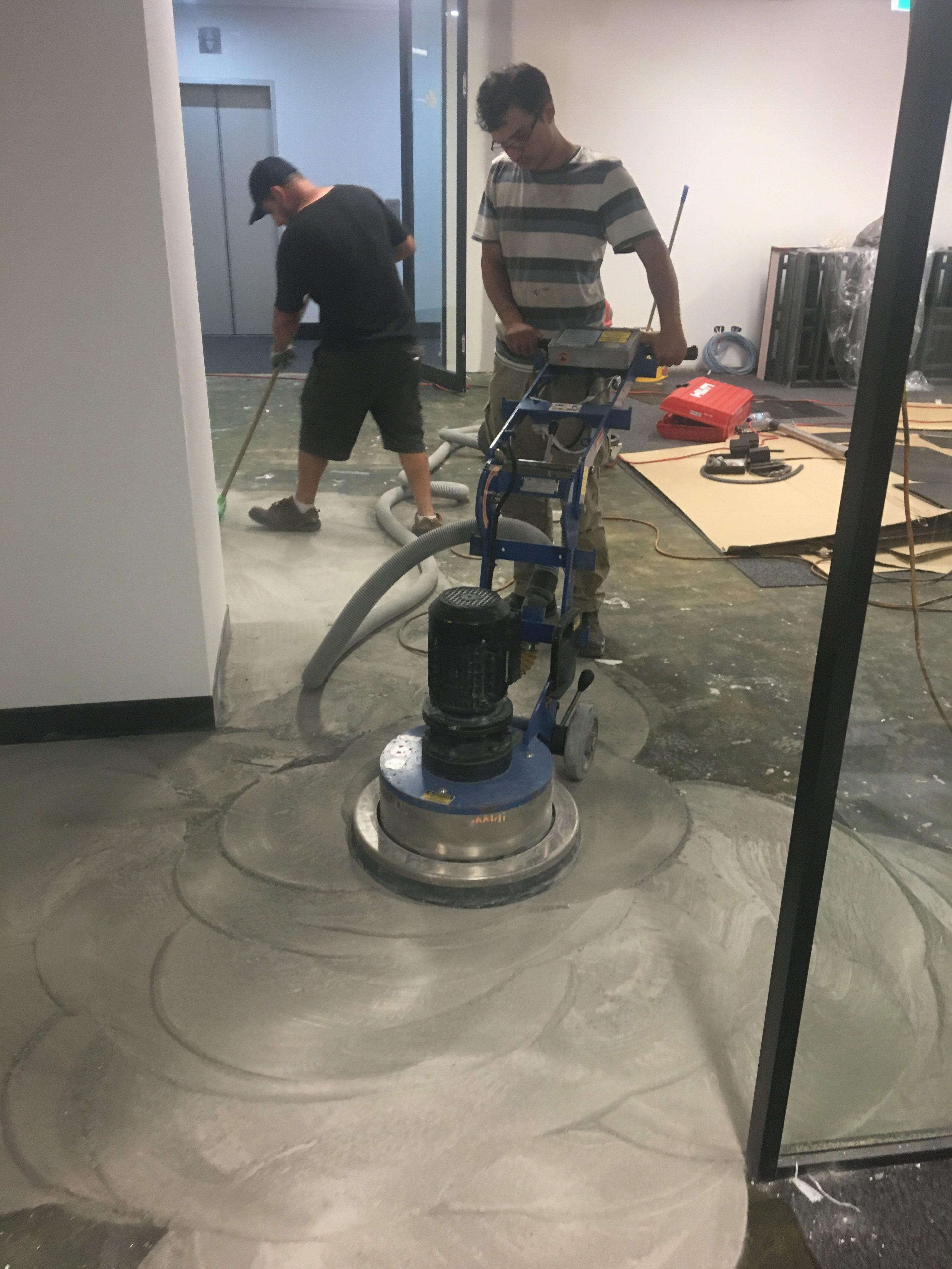 Concrete Grinding 2