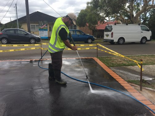High Pressure Cleaning 5