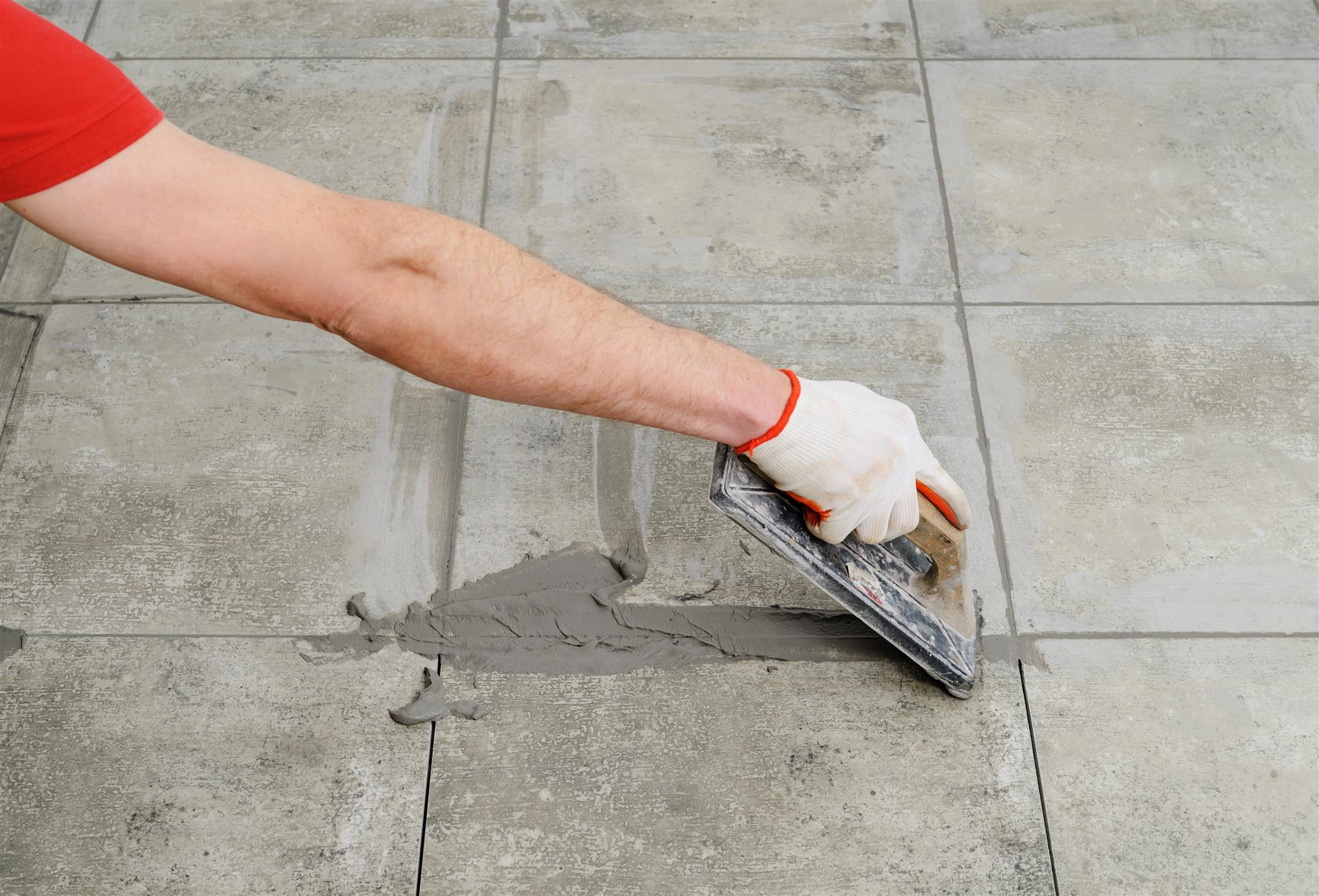 Epoxy grouting / epoxy