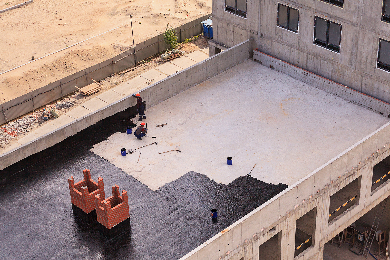 ROOFTOP REMODEL WATERPROOFING