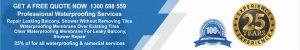 Remedial waterproofing membrane repair services